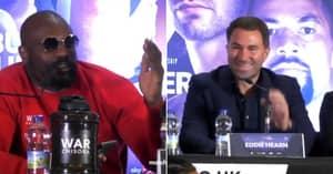Dereck Chisora Threatens To Go 'F*****g Ballistic' At Eddie Hearn In Shocking Joseph Parker Press Conference