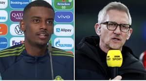 Alexander Isak Didn't Know Who Gary Lineker Was After England Legend Showered Him With Praise