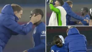 Thomas Tuchel Attempted To Get Some Emotion From N'Golo Kante At Full-Time But It Didn't Work