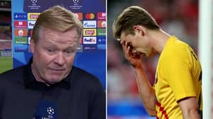 Barcelona Dressing Room Is In 'Chaos' After Ronald Koeman's Last-Minute 'Surprise'