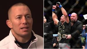 Georges St-Pierre Hints At Sensational UFC Comeback Amid Talks Of Super-Fight