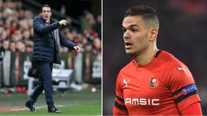 Hatem Ben Arfa Admits He Laughed 'A Little' At Unai Emery During Arsenal's Defeat To Rennes