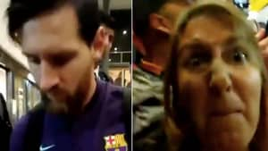 Lionel Messi Refuses To Sign Fan's Shirt, Her Reaction Is Uncalled For