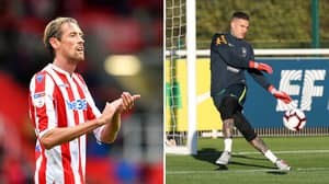Peter Crouch Responds To Ederson Claiming That He Could Play In Midfield