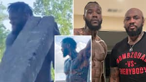 Deontay Wilder Boasts New Shredded Physique In Training Video Ahead Of Third Tyson Fury Fight