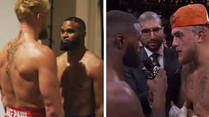 Tyron Woodley Is Refusing To Get His 'I Love Jake Paul' Loser's Tattoo