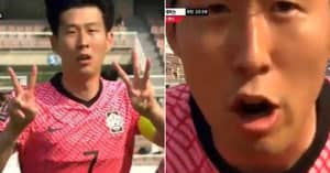 Son Heung-Min Sends 'I Love You' Message To Christian Eriksen After Scoring For South Korea