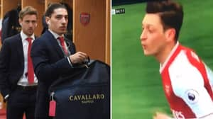 Mesut Ozil Loses His Sh*t With Bellerin, He Responds With Hilarious Tweet