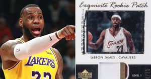 LeBron James Rookie NBA Card Sold For Record $1.8 Million At Auction