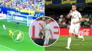 Gareth Bale Scores Two Goals For Real Madrid Then Gets Sent Off Against Villarreal