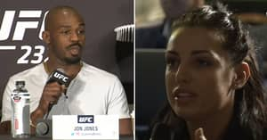 Jon Jones Disrespectfully Responds To Reporter After Asking Him About Steroids