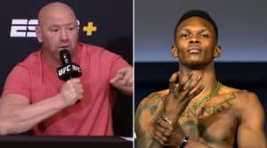 Dana White Confirms Israel Adesanya Will Next Fight Paulo Costa