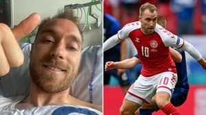 Christian Eriksen Tells Teammates To 'Play For All Of Denmark' In Positive Update From Hospital Bed