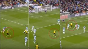 Roberto Pereyra Dribbles Past Six Players To Score Incredible Goal Of The Season Contender