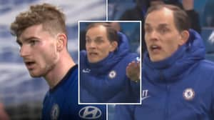 Microphones Picked Up Thomas Tuchel's Furious Instructions At Timo Werner During Chelsea Match