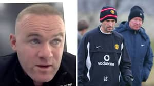 Wayne Rooney Opens Up On 'Crazy' Sir Alex Ferguson Fight That Ended Roy Keane's Career At Manchester United