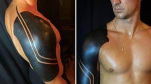 Burnley Goalkeeper Joe Hart Gets Huge 'Full Armour' Tattoo