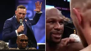 Conor McGregor's Immediate Reaction To Floyd Mayweather Defeat Shows How Much He Wanted A Second Fight