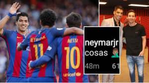 Neymar Responds To Lionel Messi Slamming Barcelona Board Over Luis Suarez Departure