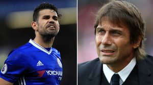 Diego Costa Has Something Planned For Antonio Conte In The Atletico Tunnel