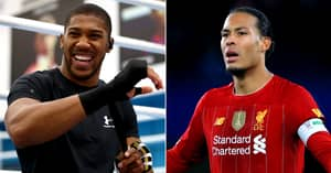 Anthony Joshua: 'If I Chose Football, You'd Have Never Heard Of Virgil Van Dijk'