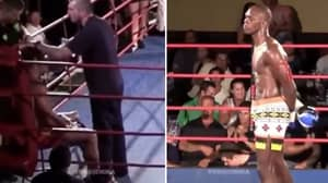 Israel Adesanya Waiting For His Opponent After The Bell Is The Coldest Thing In Combat Sports