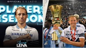 Lucas Leiva Wins Lazio's Player Of The Season Award Thanks To Liverpool Fans