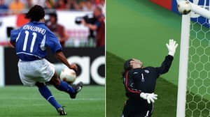 On This Day In 2002: Ronaldinho Scored 'That' Free-Kick Against England