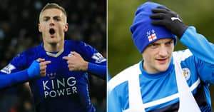 Jamie Vardy 'Downed Bottle Of Port' Night Before Breaking Premier League Record