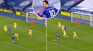James Maddison Finishes Off Leicester City Team Move With Delightful Finish