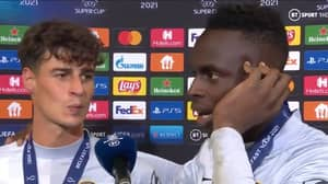 Kepa Arrizabalaga And Edouard Mendy's Joint Interview After UEFA Super Cup Win Was Wonderful