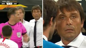 Antonio Conte Tells Ever Banega That He'll 'See Him After The Game' After Mocking His Hair