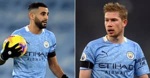 Man City Fans Angry As Riyad Mahrez Votes Liverpool Star Above Kevin De Bruyne