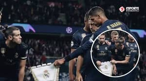 Gareth Bale 'Refused' To Hold The Real Madrid Crest For Team Photo Ahead Of PSG Clash