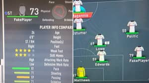 'FakePlayer' Used To Fill Positions In Bolton's Team In FIFA 20's Beta