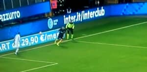WATCH: Inter Milan's Ivan Perisic Gets Booked For Heading Ball To His Goalkeeper