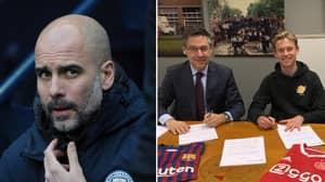 Barcelona Manager Ernesto Valverde Takes Swipe At Pep Guardiola Over Frenkie de Jong Transfer