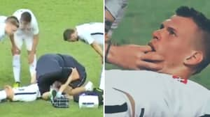 Martin Skrtel Saved From Swallowing His Tongue After Being Knocked Out