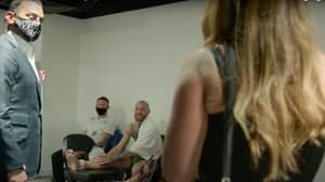 Heart-Warming Moment Between Conor McGregor And Dustin Poirier's Wife Caught On Camera
