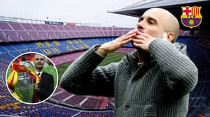 Manchester City Boss Pep Guardiola Says He Will Return To Barcelona 'Sooner Or Later'