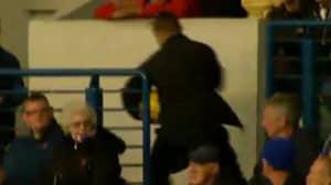 WATCH: Rangers Fan Steal Match Ball From Aberdeen Game