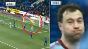 Ashley Barnes' Face Sums Up Jordan Pickford's Unreal Save