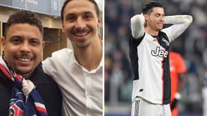 Zlatan Ibrahimovic Once Ripped Into Cristiano Ronaldo And Said He's Not 'The Real Ronaldo'