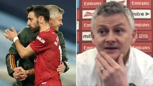 Bruno Fernandes Was Dropped From The Manchester United Team Vs Leicester For 'Record-Breaking' Reason