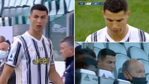 Cristiano Ronaldo 'Happy To Be Substituted' Vs Inter And His Body Language Told The Entire Story
