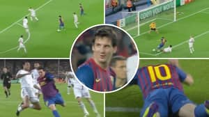 Lionel Messi's Reaction To 35-Year-Old Alessandro Nesta Stopping Him With The Perfect Defending Display