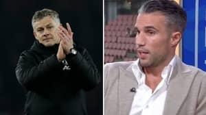 Ole Gunnar Solskjaer Hits Back At Robin Van Persie Criticism