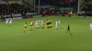 Watch: Leeds United's Creative Free-Kick Routine Worked A Treat