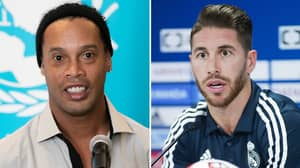Ronaldinho's Trolling Of Sergio Ramos Backfires After Real Madrid Legend's Savage Response