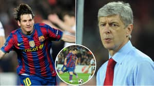 On This Day In 2010: Lionel Messi Single-Handedly Destroyed Arsenal By Scoring All Four Goals